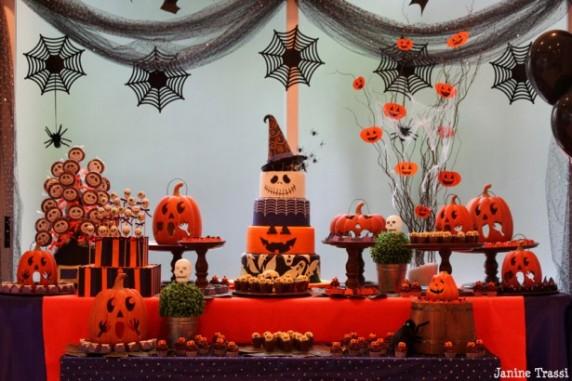 Resultado de imagem para festa halloween decoração dicas